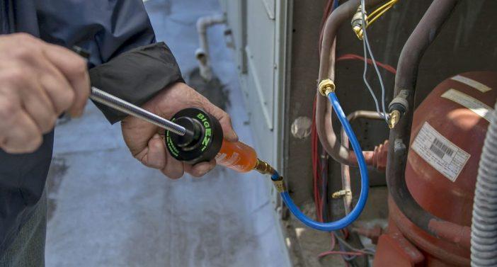 Big EZ - Contraste fluorescente para sistemas de refrigeração e ar condicionado