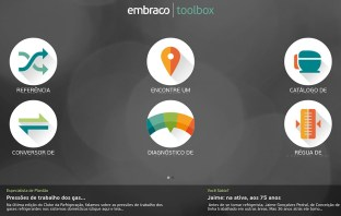 Aplicativo Embraco Toolbox