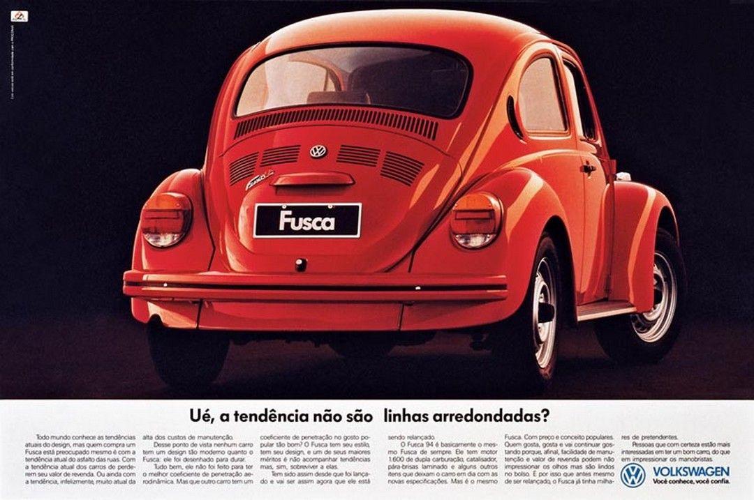 Propaganda Histórica do Fusca Itamar - Revista e jornal