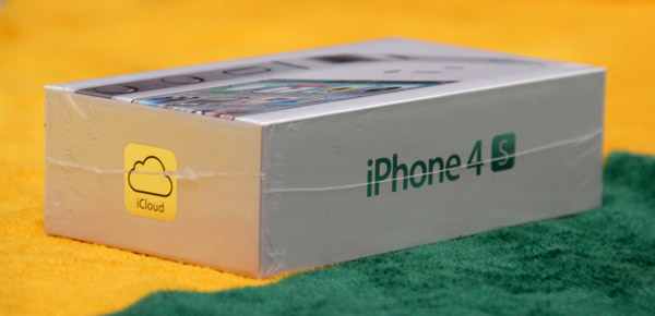 Caixa do iPhone 4S