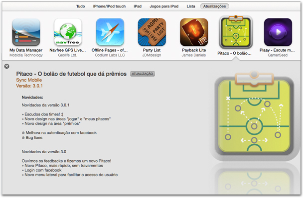 iTunes 11.0.3