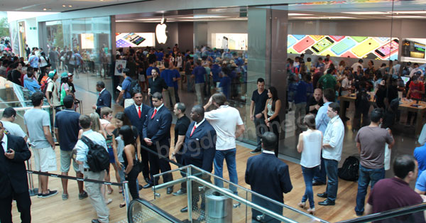 Inauguração Apple Store Rio