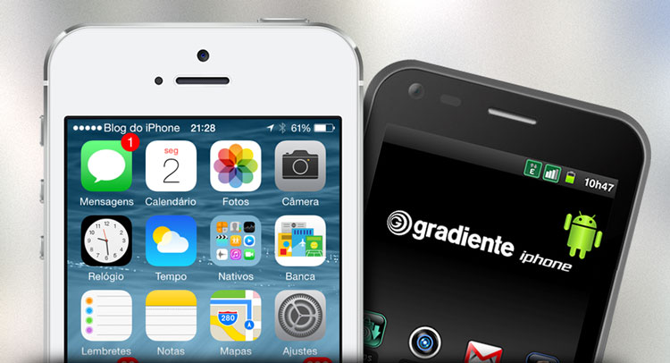 Gradiente iphone