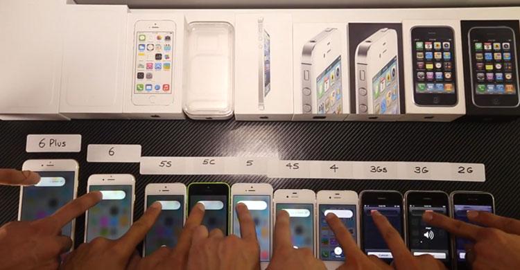 Teste iPhones
