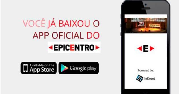 Chegou o aplicativo do EPICENTRO!