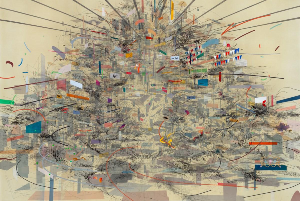 Julie Mehretu - Empirical construction (2003)