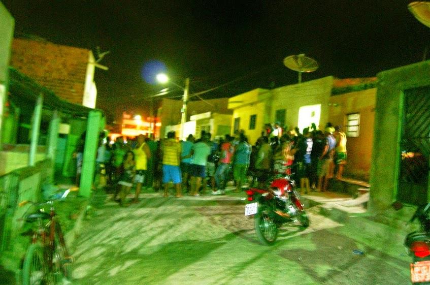 FOTOS IMAGENS FORTES -Mais um ex-presidiário foi assassinado