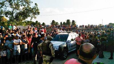 FOTOS IMAGENS FORTES-Chacina deixa seis mortos no município de João Câmara, RN