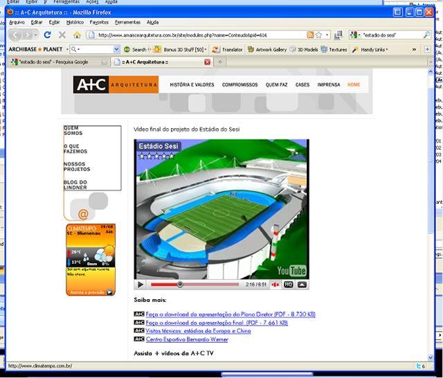 site www.amaiscearquitetura.com.br
