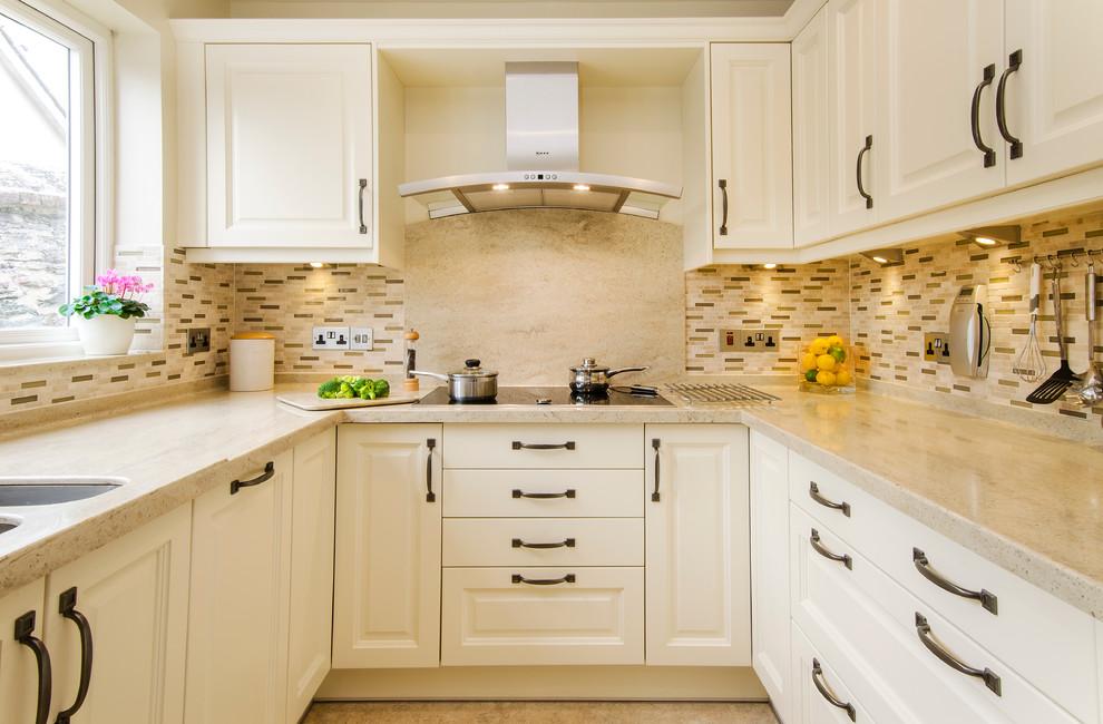U-Shaped Kitchen Aesthetics