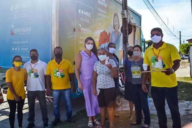 """Programa """"Tarifa Social"""", da Energisa, cadastra população de Lucena somente até esta quarta-feira, dia 27"""