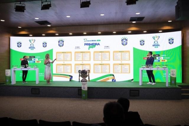 Definidos os confrontos da primeira fase da Copa do Brasil 2021
