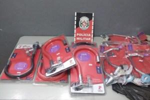FIM DE CARREIRA – Polícia prende trio suspeito de furtar lojas em oito municípios paraibanos