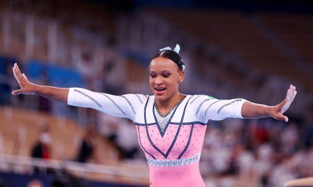 OLIMPÍADAS – Rebeca Andrade conquista ouro para o Brasil na ginástica artística