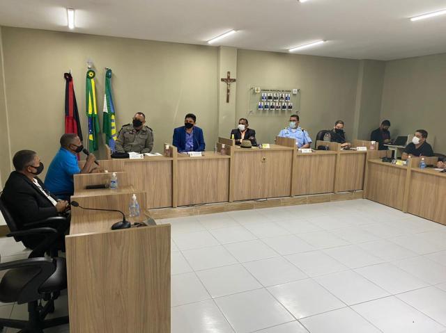 Câmara Municipal de Conde realizou, nesta sexta-feira (10), Audiência Pública para tratar da segurança do Município