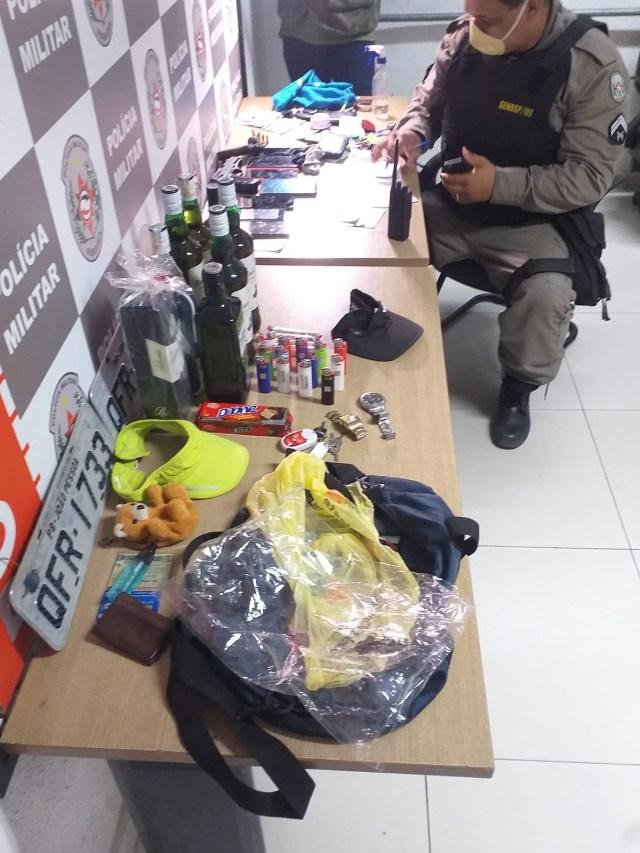 Polícia prende dupla após perseguição na zona sul da Capital