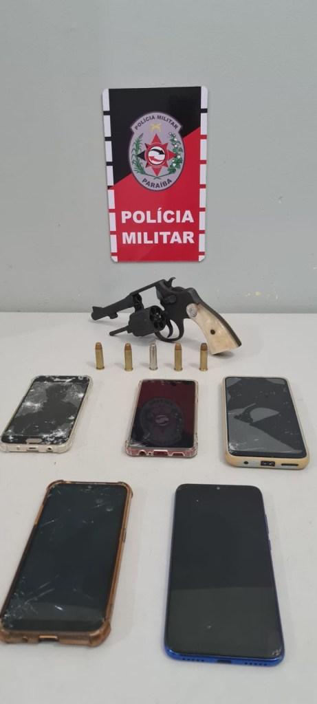 SANTA RITA – Preso homem acusado de roubo pilotando motocicleta