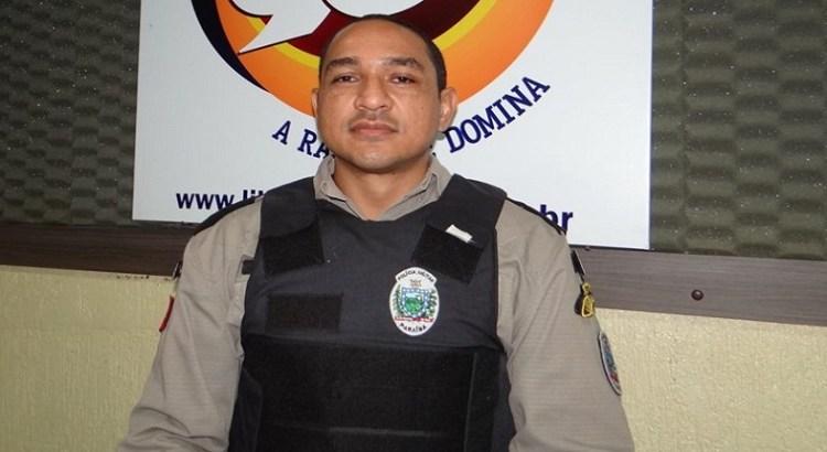 Resultado de imagem para Capitão C. Lima comandante da PM em Piancó
