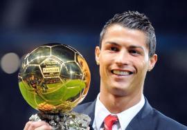 cristiano ronaldo bola de ouro
