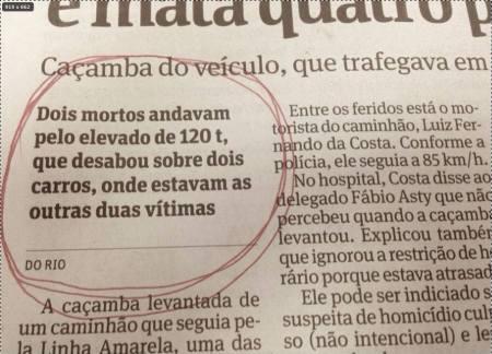 FOLHA MORTOS QUE ANDAM