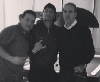 Malaquias, Neymar e Wagner Ribeiro