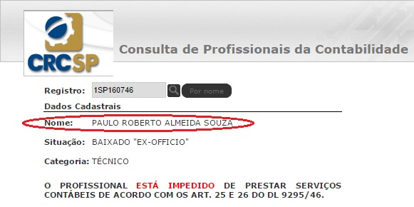 Paulo Roberto crc