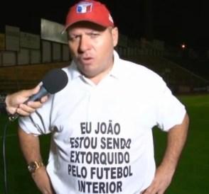 futebol interior extorsão