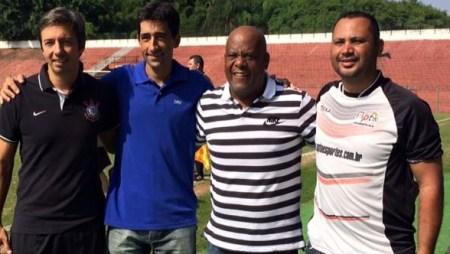 Rodrigo Braghetto e André Negão, vice do Corinthians