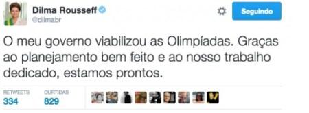 dilma olimpiadas