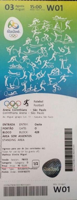 ingresso olimpiada