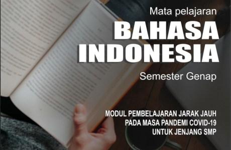 modul pembelajaran berbasis aktivitas bahasa indonesia kelas 8