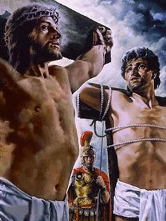 Jesus, o malfeitor na cruz e o Paraíso
