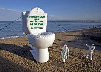 O caráter de alguns políticos brasileiros e os nomes de patrimônios públicos!