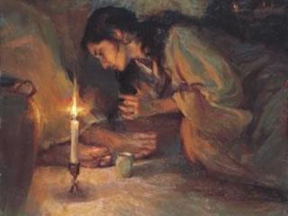 A mulher adúltera de João 8 - segundo Hendrickson Rogers