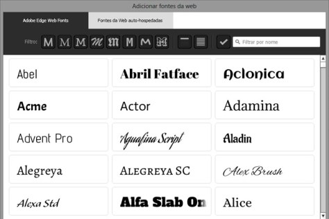 WEB FONTS MUSE