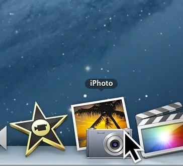 como criar uma segunda biblioteca de fotos no iPhoto