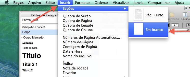 Como escrever um eBook utilizando o Pages no Mac
