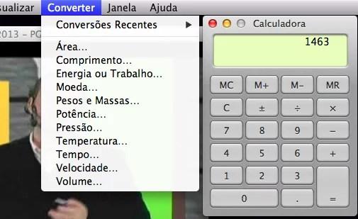 Calculadora do Mac OS X