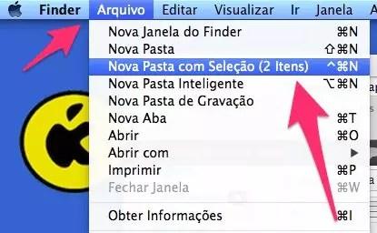 Como organizar rapidamente a Mesa do Mac