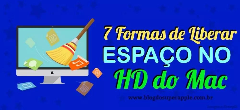 7 Formas de Liberar Espaço no HD do Macbook e iMac