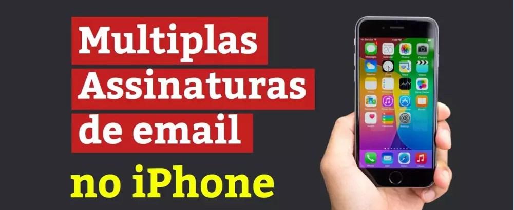 Guia Prático: Como Usar Várias Assinaturas no Mail do iPhone – Videoaula