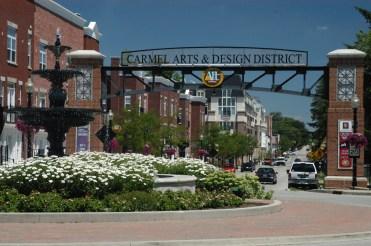 Arts & Design District Arch