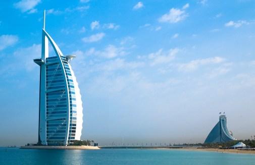 La Burj Al Arab à Dubaï ©Joi Ito