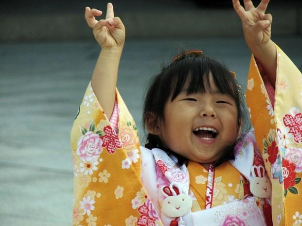Shichi go san, happy