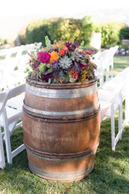 Barrel Florals