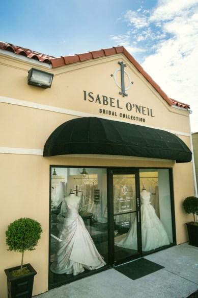 Outside Isabel O'Neil