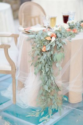 Linens and Greenery