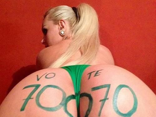 Mulher pera é candidata a vereadora em São Paulo