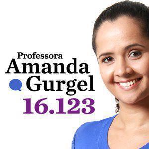 Professor Amanda Gurgel é a mais votada em Natal