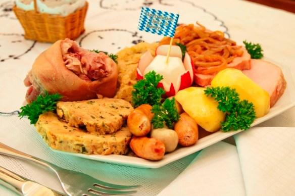 Landhausteller (prato de degustação Landhaus